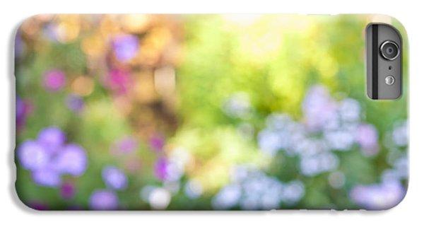 Flower Garden In Sunshine IPhone 6 Plus Case by Elena Elisseeva