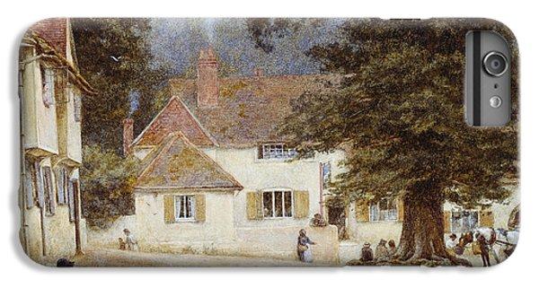 A Cart By A Village Inn IPhone 6 Plus Case by Helen Allingham