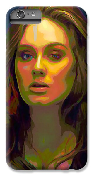 Adele IPhone 6 Plus Case by  Fli Art