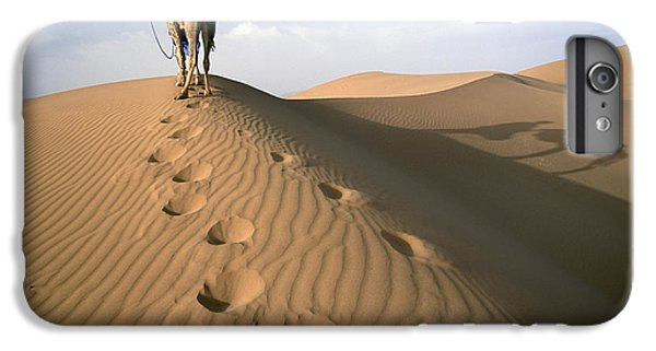 Blue Man Tribe Of Saharan Traders With IPhone 6 Plus Case by Axiom Photographic