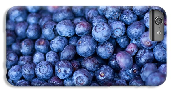 Blueberries IPhone 6 Plus Case by Tanya Harrison
