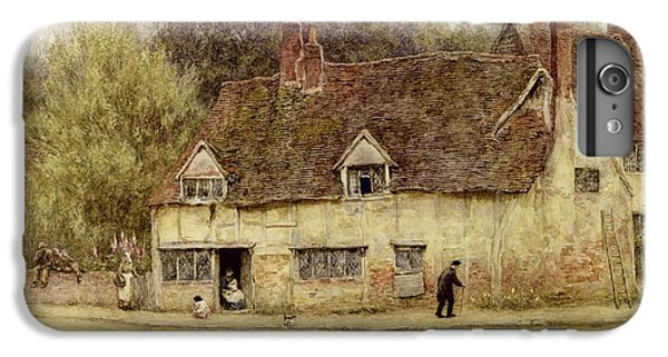 By The Old Cottage IPhone 6 Plus Case by Helen Allingham