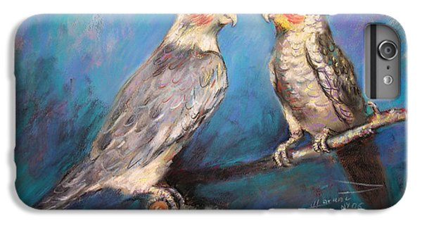 Coctaiel Parrots IPhone 6 Plus Case by Ylli Haruni
