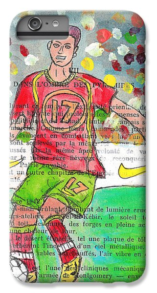 Cristiano Ronaldo IPhone 6 Plus Case by Jera Sky