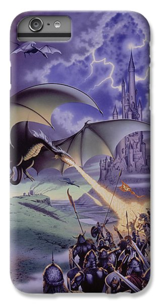 Dragon Combat IPhone 6 Plus Case by The Dragon Chronicles - Steve Re