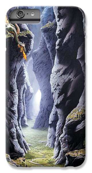 Dragons Pass IPhone 6 Plus Case by The Dragon Chronicles - Steve Re
