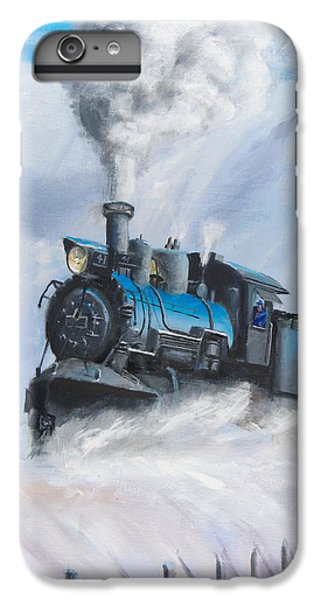 First Train Through IPhone 6 Plus Case by Christopher Jenkins
