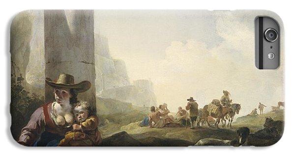 Italian Peasants Among Ruins IPhone 6 Plus Case by Jan Weenix