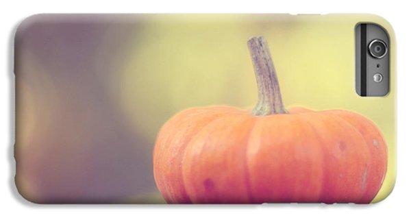 Little Pumpkin IPhone 6 Plus Case by Amy Tyler