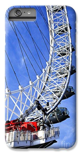London Eye IPhone 6 Plus Case by Elena Elisseeva