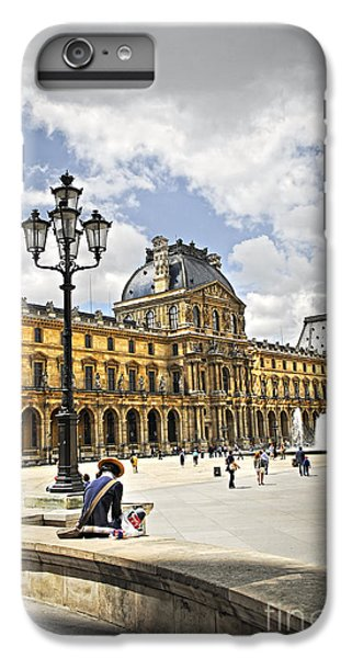 Louvre Museum IPhone 6 Plus Case by Elena Elisseeva