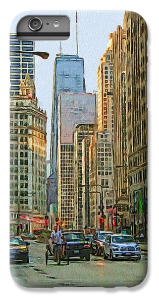 Michigan Avenue IPhone 6 Plus Case by Vladimir Rayzman