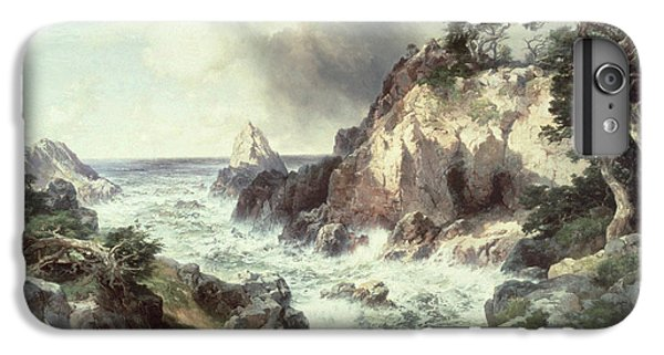 Point Lobos At Monterey In California IPhone 6 Plus Case by Thomas Moran