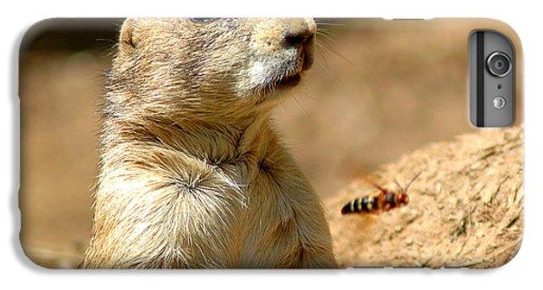 Prarie Dog Bee Alert IPhone 6 Plus Case by LeeAnn McLaneGoetz McLaneGoetzStudioLLCcom