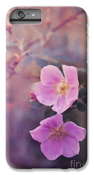 Prickly Rose IPhone 6 Plus Case by Priska Wettstein