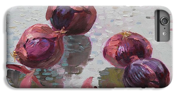 Red Onions IPhone 6 Plus Case by Ylli Haruni