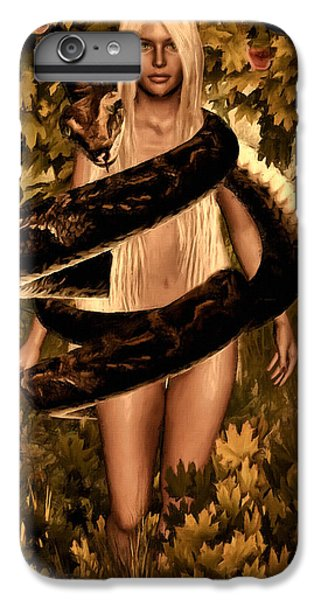 Temptation And Fall IPhone 6 Plus Case by Lourry Legarde