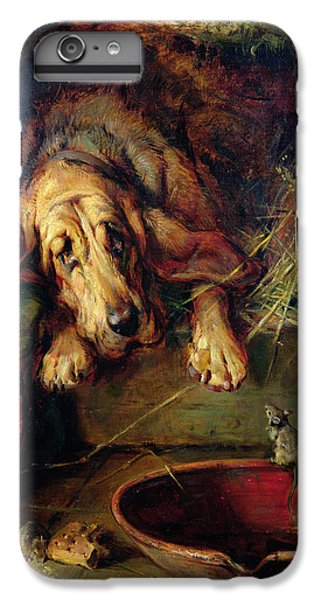 When The Cat's Away The Mice Will Play  IPhone 6 Plus Case by Philip Eustace Stretton