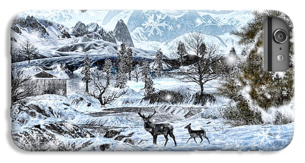 Winter Wonderland IPhone 6 Plus Case by Lourry Legarde