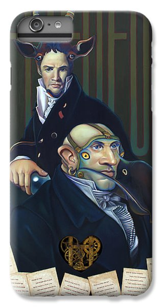 Yak Andrew Bienstjalk IPhone 6 Plus Case by Patrick Anthony Pierson