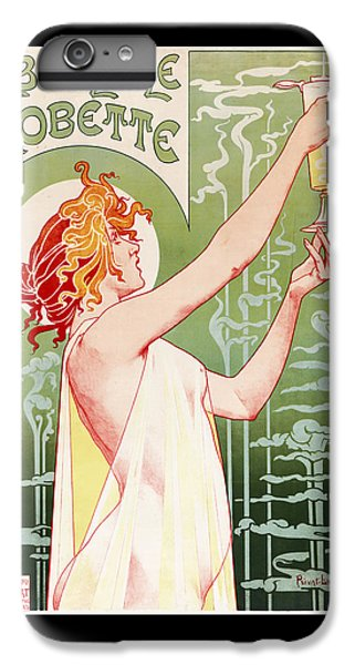 Absinthe Robette IPhone 6 Plus Case by Henri Privat-Livemont