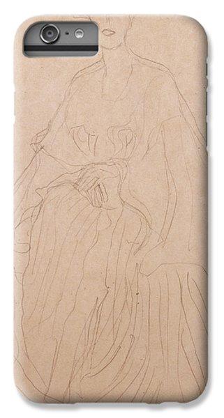 Adele Bloch Bauer IPhone 6 Plus Case by Gustav Klimt