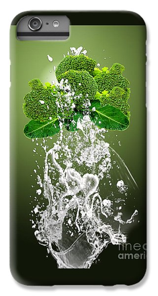 Broccoli Splash IPhone 6 Plus Case by Marvin Blaine