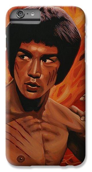 Bruce Lee Enter The Dragon IPhone 6 Plus Case by Paul Meijering