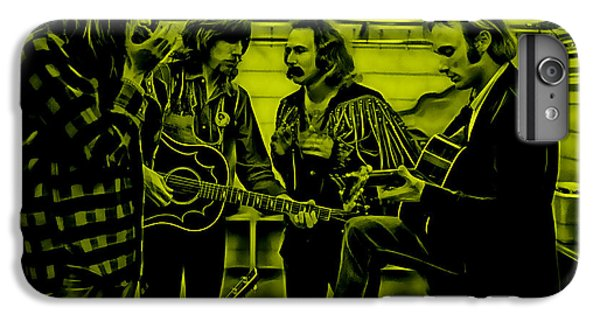 Crosby Stills Nash And Young IPhone 6 Plus Case by Marvin Blaine