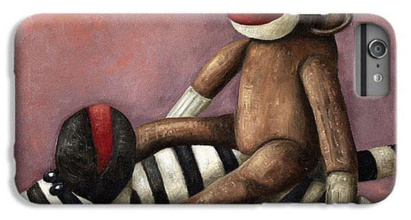 Dirty Socks 3 Playing Dirty IPhone 6 Plus Case by Leah Saulnier The Painting Maniac