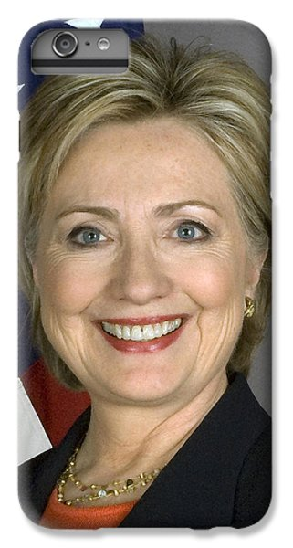 Hillary Clinton IPhone 6 Plus Case by War Is Hell Store