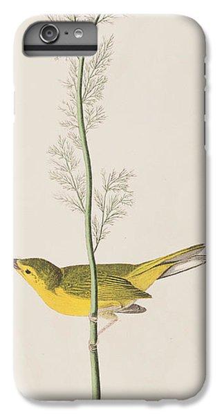 Hooded Warbler IPhone 6 Plus Case by John James Audubon