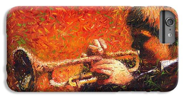 Jazz Trumpeter IPhone 6 Plus Case by Yuriy  Shevchuk