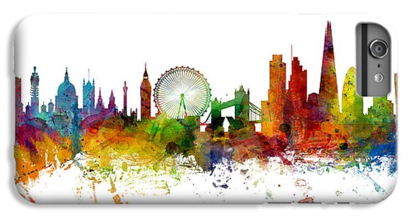 London England Skyline Panoramic IPhone 6 Plus Case by Michael Tompsett