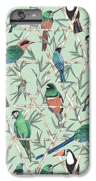 Menagerie IPhone 6 Plus Case by Jacqueline Colley