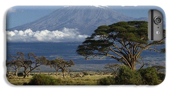 Mount Kilimanjaro IPhone 6 Plus Case by Michele Burgess