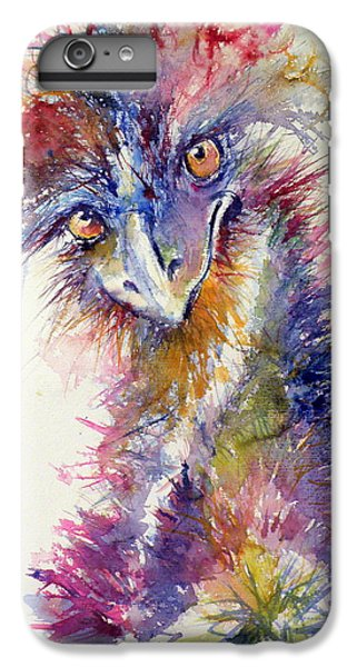 Ostrich IPhone 6 Plus Case by Kovacs Anna Brigitta