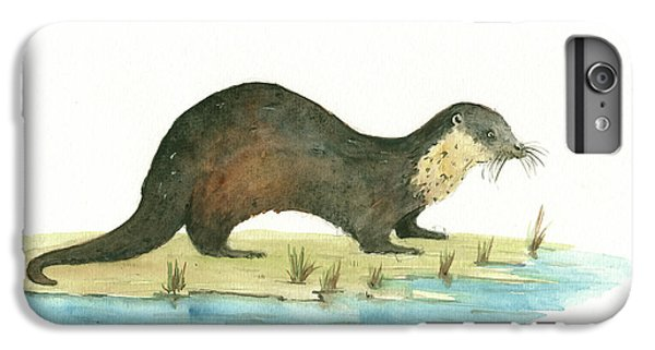 Otter IPhone 6 Plus Case by Juan Bosco