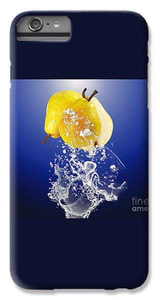 Pear Splash Collection IPhone 6 Plus Case by Marvin Blaine
