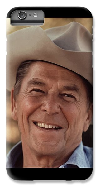 President Ronald Reagan IPhone 6 Plus Case by War Is Hell Store