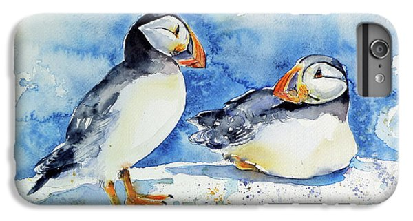 Puffins IPhone 6 Plus Case by Kovacs Anna Brigitta