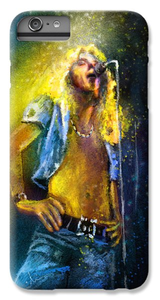 Robert Plant 01 IPhone 6 Plus Case by Miki De Goodaboom