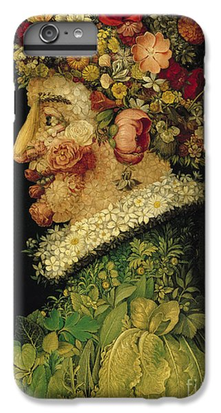Spring IPhone 6 Plus Case by Giuseppe Arcimboldo