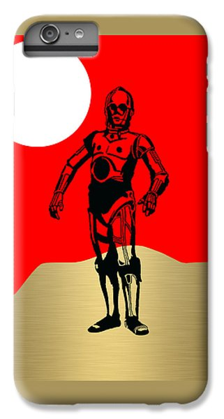 Star Wars C-3po Collection IPhone 6 Plus Case by Marvin Blaine