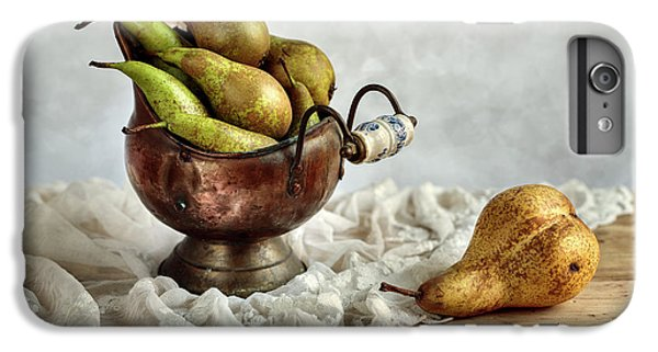 Still-life With Pears IPhone 6 Plus Case by Nailia Schwarz