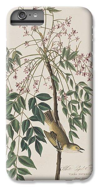 White-eyed Flycatcher IPhone 6 Plus Case by John James Audubon