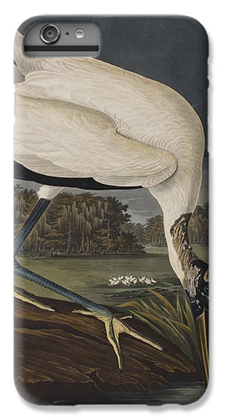 Wood Ibis IPhone 6 Plus Case by John James Audubon