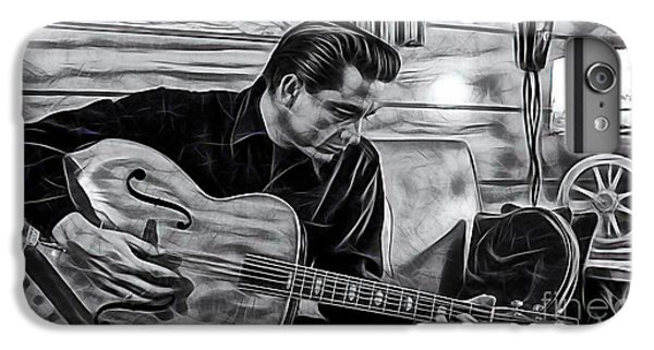 Johnny Cash Collection IPhone 6 Plus Case by Marvin Blaine