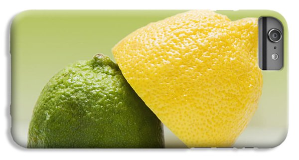 12 Organic Lemon And 12 Lime IPhone 6 Plus Case by Marlene Ford