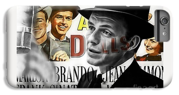Frank Sinatra Collection IPhone 6 Plus Case by Marvin Blaine